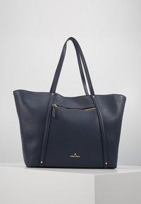 Anna Field - SHOPPING BAG / POUCH SET - Shopping bag - dark blue - 0