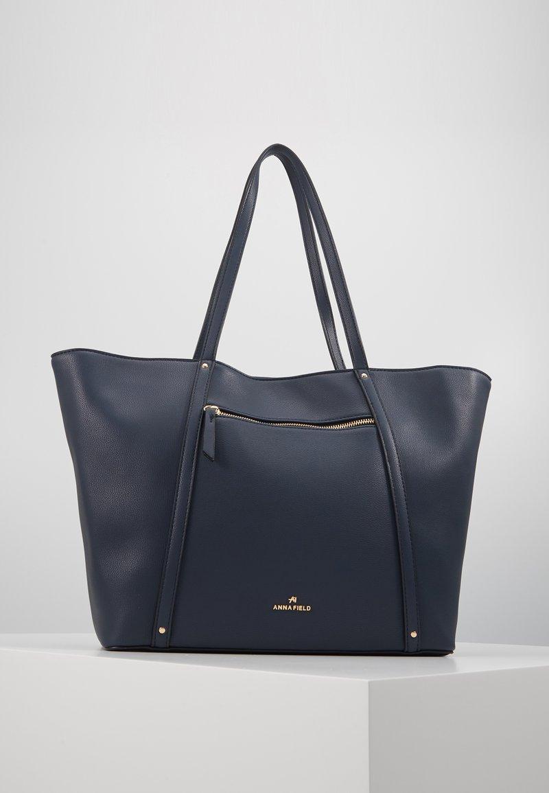 Anna Field - SHOPPING BAG / POUCH SET - Shopping bag - dark blue