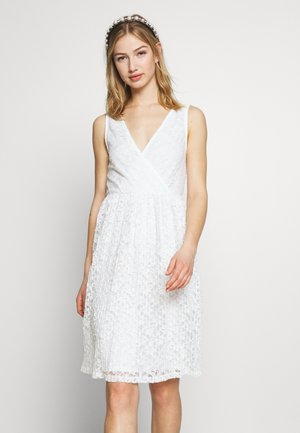VILENO DRESS - Juhlamekko - cloud dancer