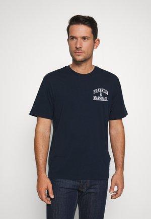 T-shirts print - navy