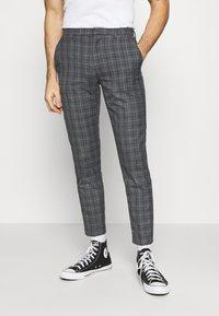 Burton Menswear London - CHECK 2 PACK - Kangashousut - navy - 1