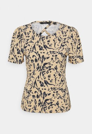 VMHAILEY - T-shirt con stampa - brown