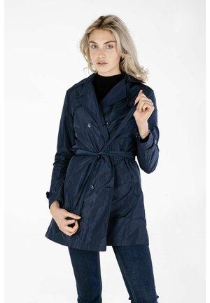 DOPPIOPETTO - Trenchcoat - navy blue
