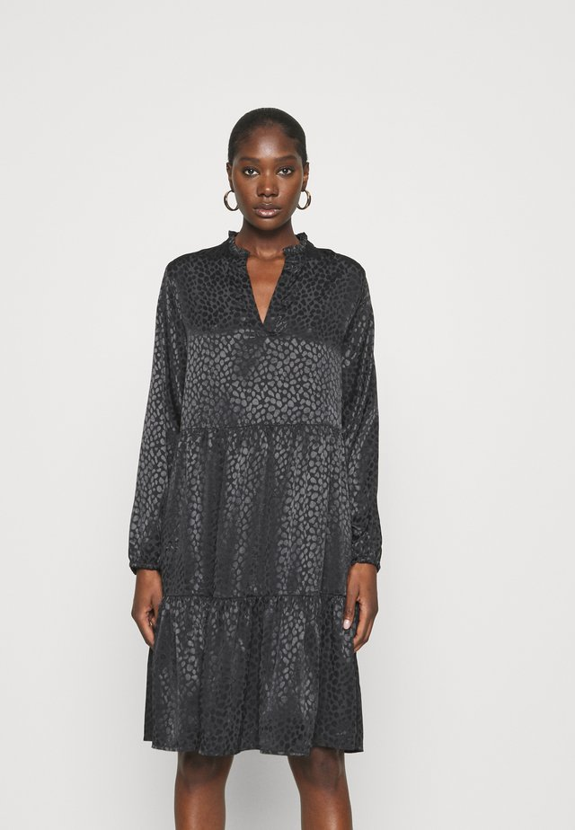 DENORA EDA DRESS - Korte jurk - black