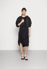 Monki - Jersey dress - black - 1