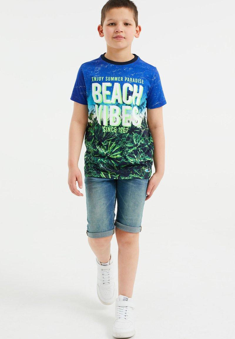 WE Fashion - T-shirt con stampa - multi-coloured