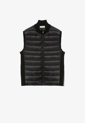 Waistcoat - schwarz - 9107 - black