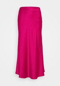 PALOMA MIDI SKIRT - A-line skirt - pink sateen