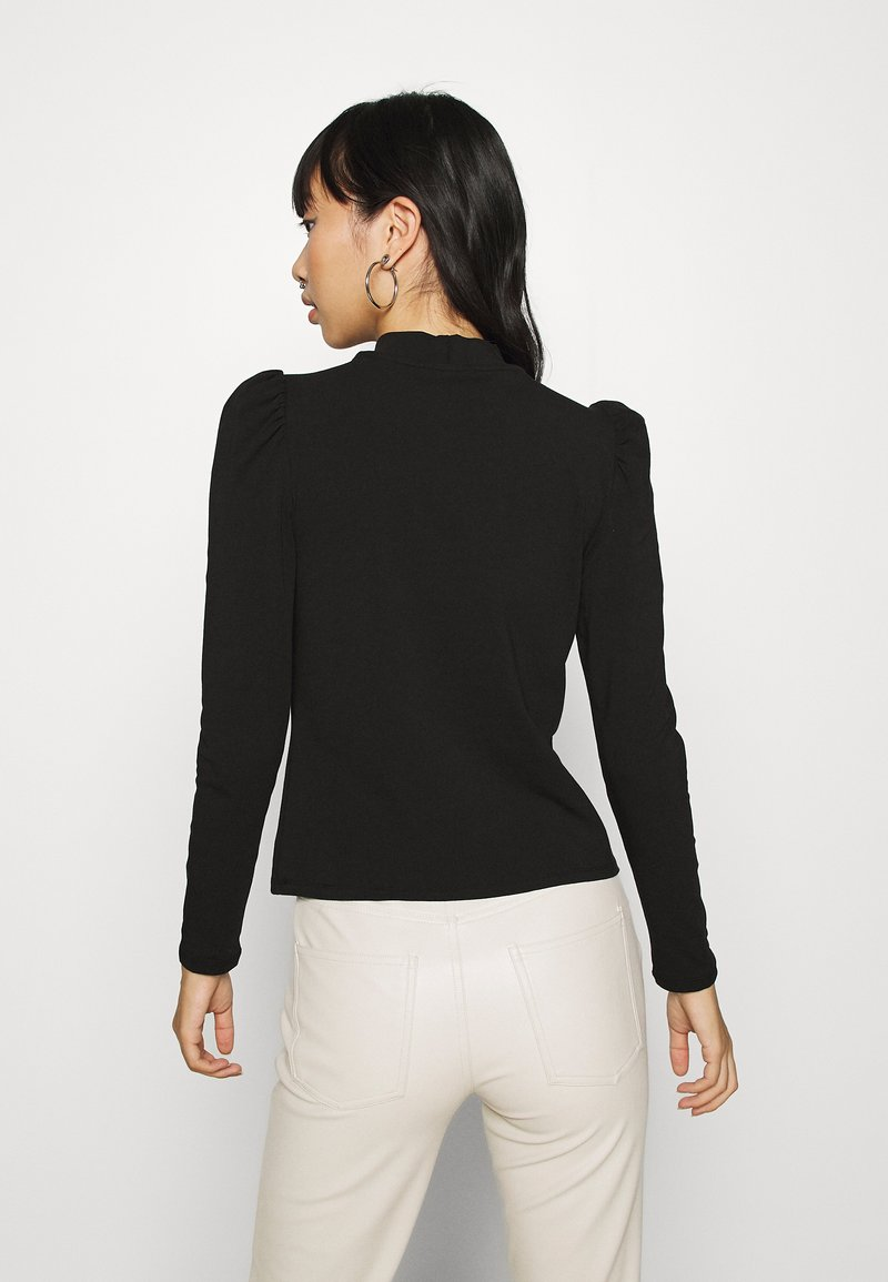 ONLY - LIVE LOVE HIGH PUFF - Long sleeved top - black