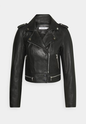 CEPHEE - Leather jacket - noir