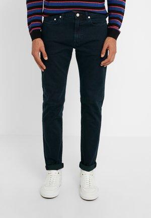 Slim fit jeans - dark-blue denim