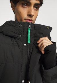 Benetton - OUTERWEAR LONG - Piumino - black - 7