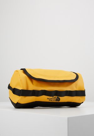 TRAVEL CANISTER UNISEX - Wash bag - summit gold/black