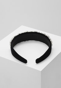 Pieces - PCVUJA HAIRBAND - Hair Styling Accessory - black/clear - 2