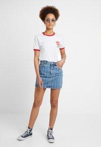 Abrand Jeans - SKIRT - Denim skirt - thunder - 1