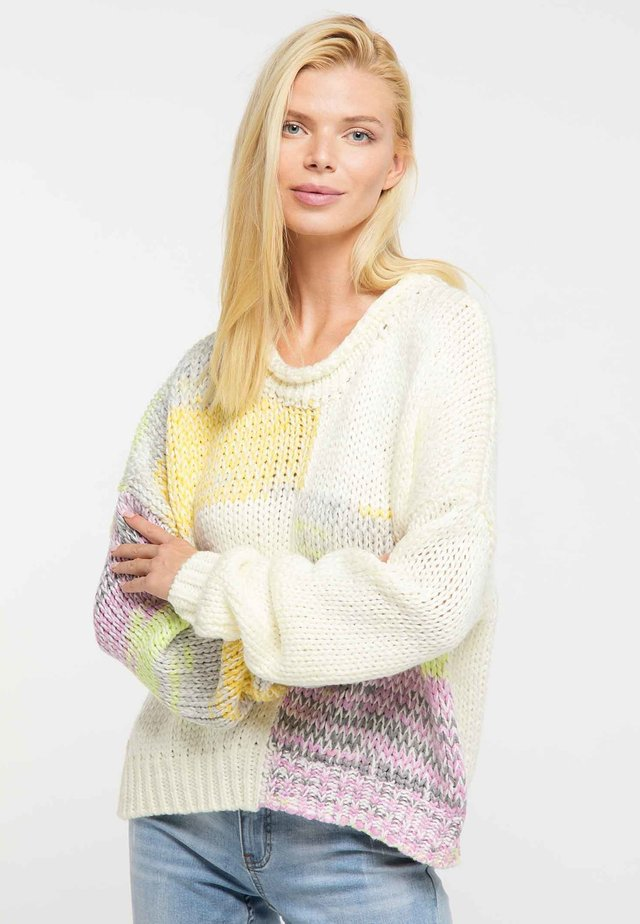 Sweter - light yellow