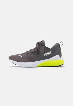 CELL VIVE - Neutral running shoes - castlerock/soft fluo yellow/white