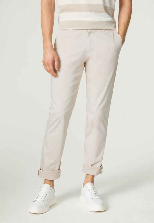 Chino kalhoty - hellbeige