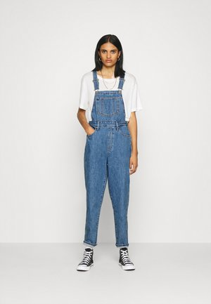 TAPERED OVERALL - Snekkerbukse - crazy blue