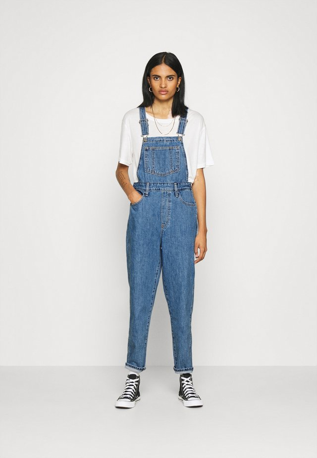 TAPERED OVERALL - Latzhose - crazy blue