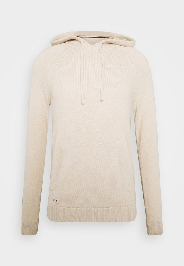 HOODIE - Pullover - oatmeal
