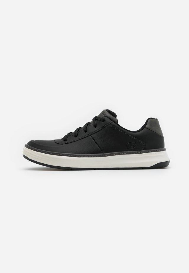 MORENO PROGUE - Sneaker low - black