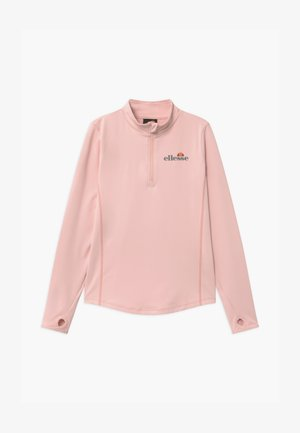 RUNIO ZIP UNISEX - Sports shirt - light pink