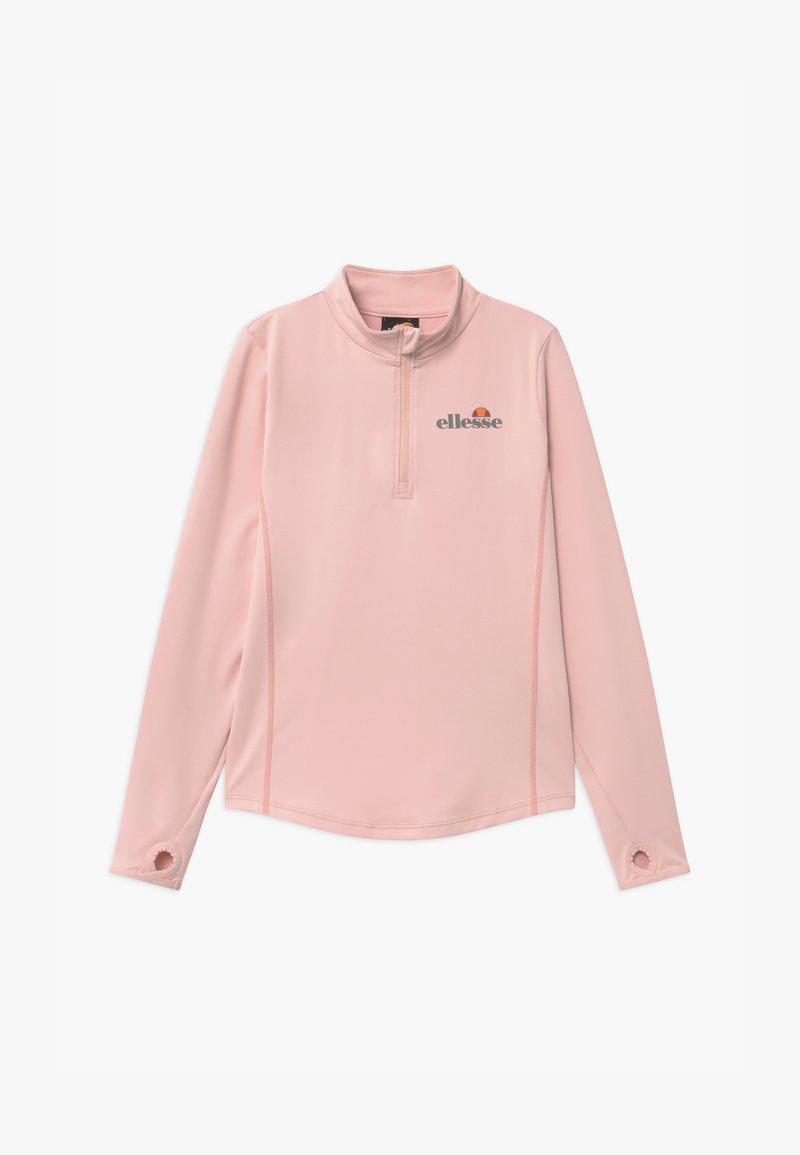 Ellesse - RUNIO ZIP UNISEX - Funkční triko - light pink