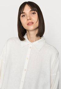 Lindex - SHIRT LUCY - Skjortebluser - white - 3