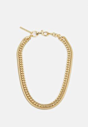 LAYERED CHAIN NECKLACE - Náhrdelník - gold-coloured