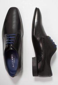 Azzaro - OUTINOR - Smart lace-ups - noir - 1