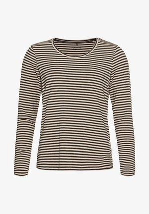 MIT RINGELN - Long sleeved top - grau