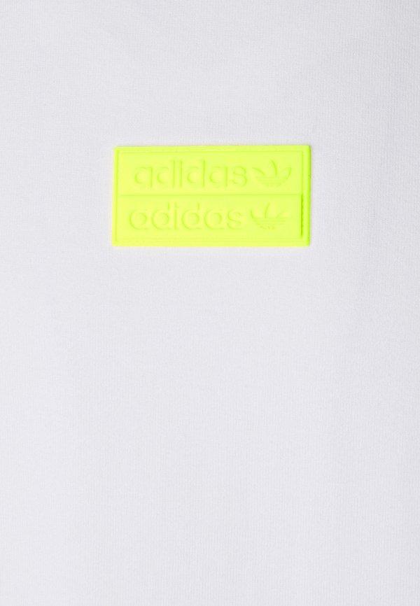 adidas Originals SILICON - T-shirt z nadrukiem - white/solar yellow/biały Odzież Męska ZCHW