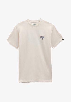 SIGN PAINTER SS TEE - Print T-shirt - antique white