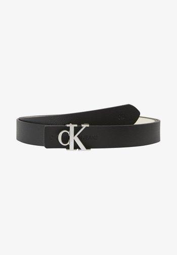 CKJ GYM CLASS REV MONO - Belt - black