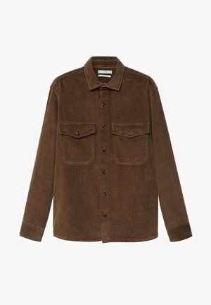 BUDOR - Camisa - braun