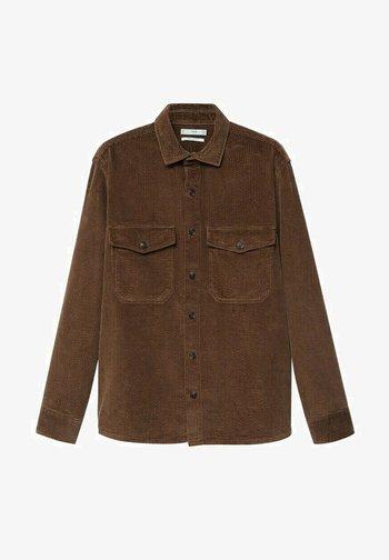 BUDOR - Overhemd - braun