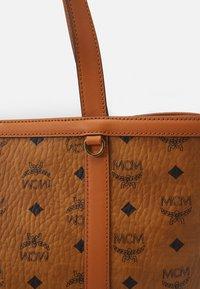 MCM - DELMY VISETOS SHOPPER MEDIUM - Tote bag - cognac - 5