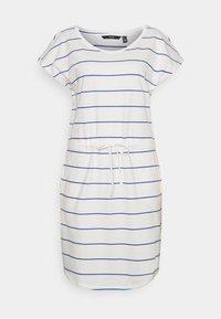 Vero Moda Tall - VMAPRIL SHORT DRESS 2 PACK - Jersey dress - black/snow white/dazzling blue - 1
