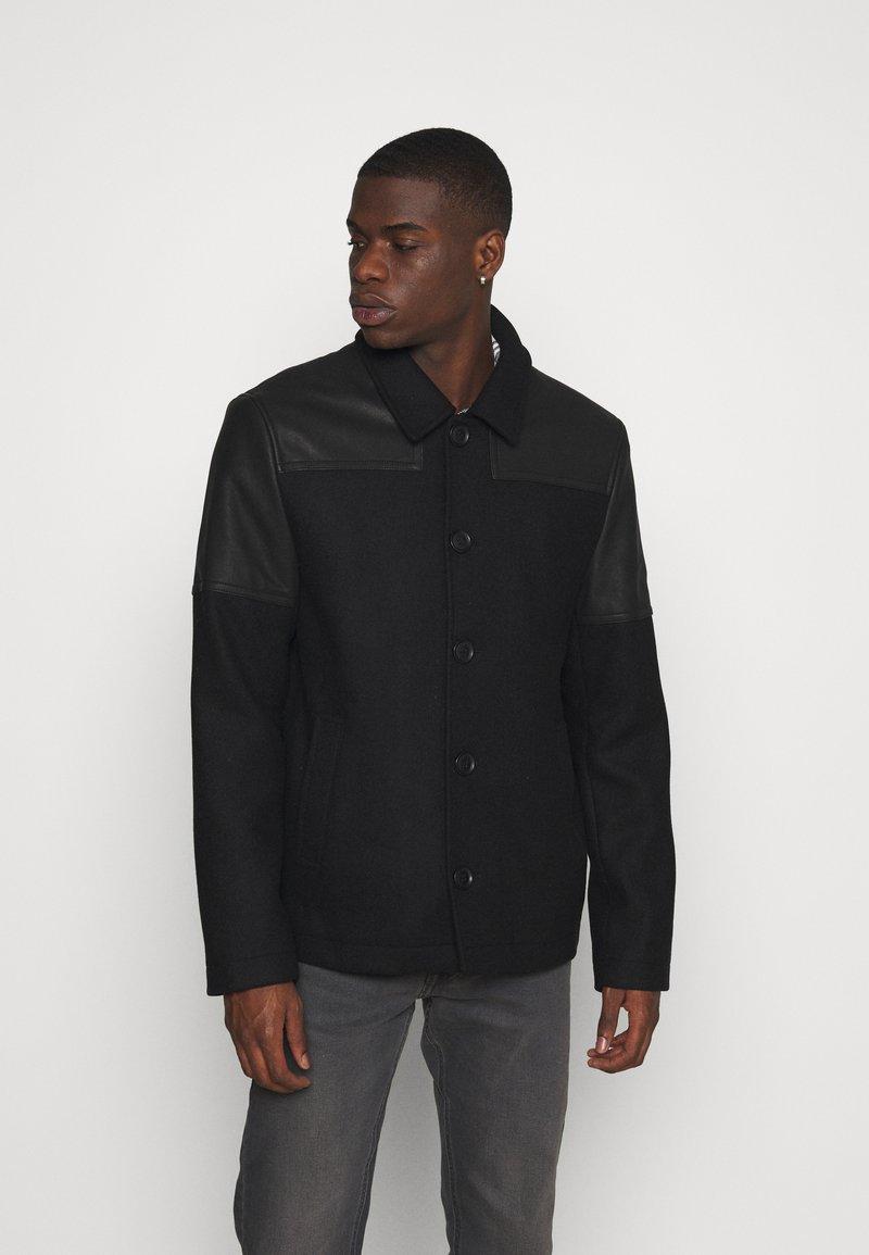 AllSaints - TARF JACKET - Short coat - black