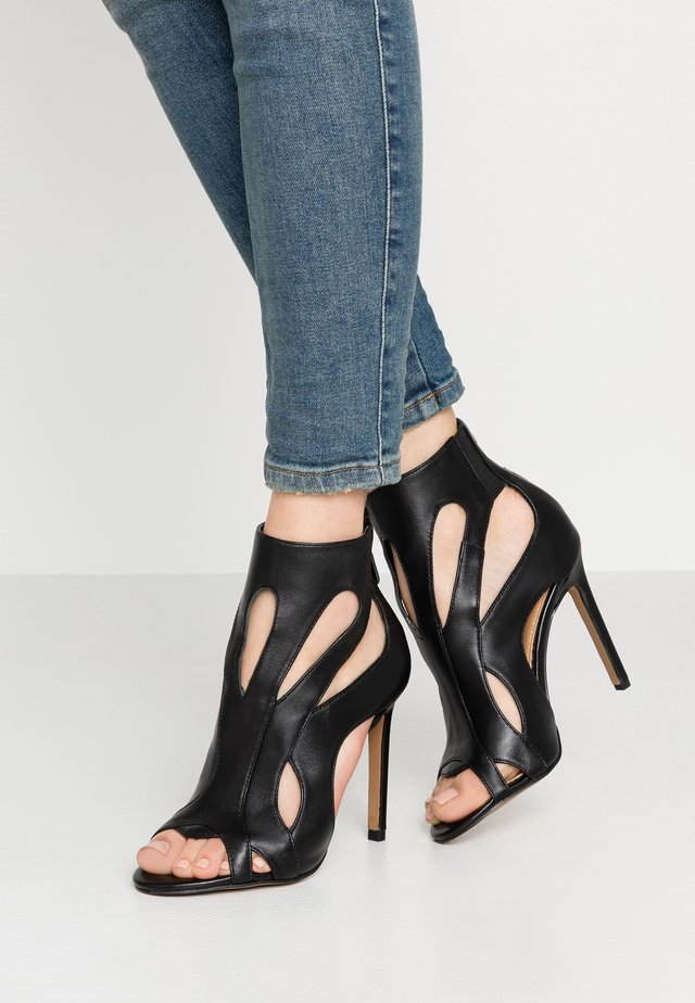 DARCY - High heeled sandals - black