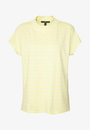 Print T-shirt - lime yellow