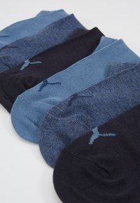 Puma - SNEAKER PLAIN 6 PACK UNISEX - Trainer socks - denim blue - 2