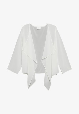VIALLI 3/4 COVER UP - Blazer - cloud dancer