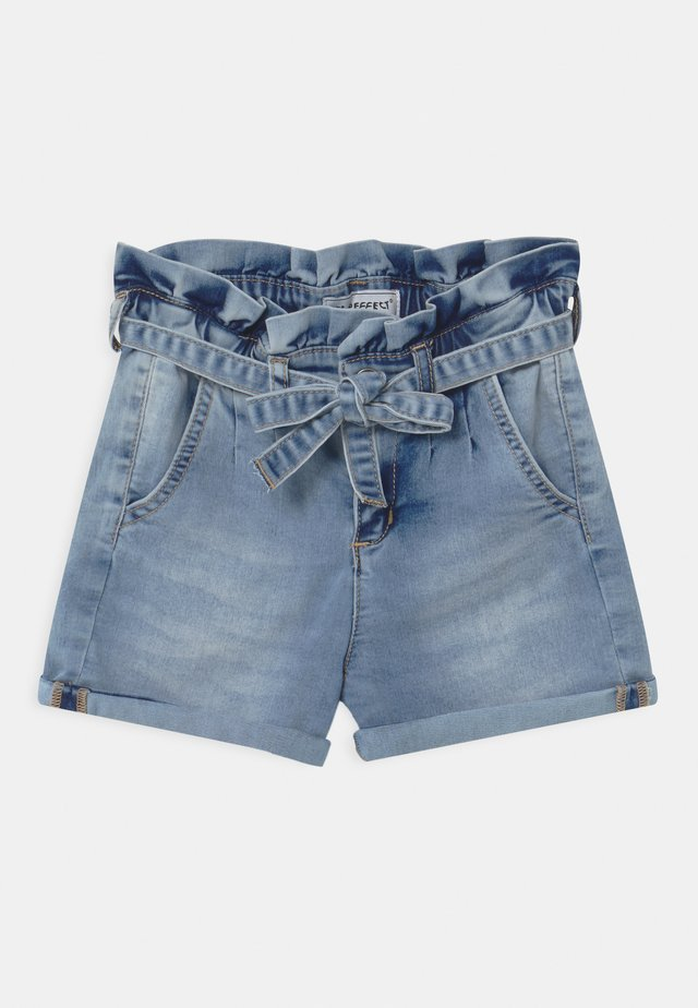 GIRLS PAPERBAG  - Shorts di jeans - light blue