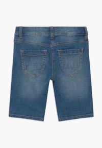 s.Oliver - BERMUDA - Denim shorts - blue denim - 1