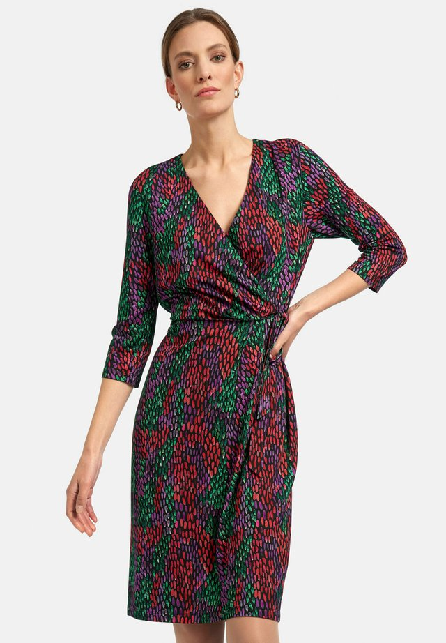 Vestito di maglina - multicolor