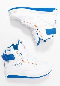 Ewing - 33 HI - High-top trainers - white/princess blue/vibrant orange - 1