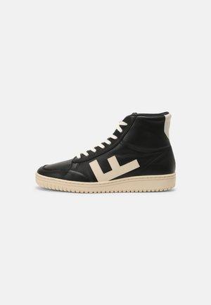 OLD 80'S UNISEX - Sneaker high - black/white