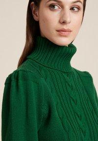 Luisa Spagnoli - MAGDALENA - Stickad tröja - verde bottiglia - 2